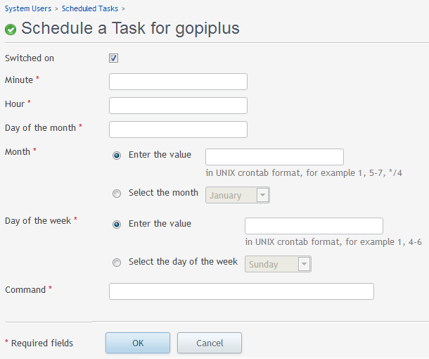 How to schedule auto emails for Email subscribers wordpress plugin in Parallels Plesk?